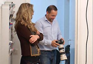 Ein Büro in Nippes und ein Fotograf in Köln bei der Arbeitbeitershooting