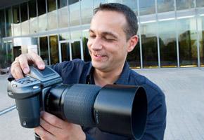 Ein Shooting mit Fotograf Dirk Baumbach im Mediapark