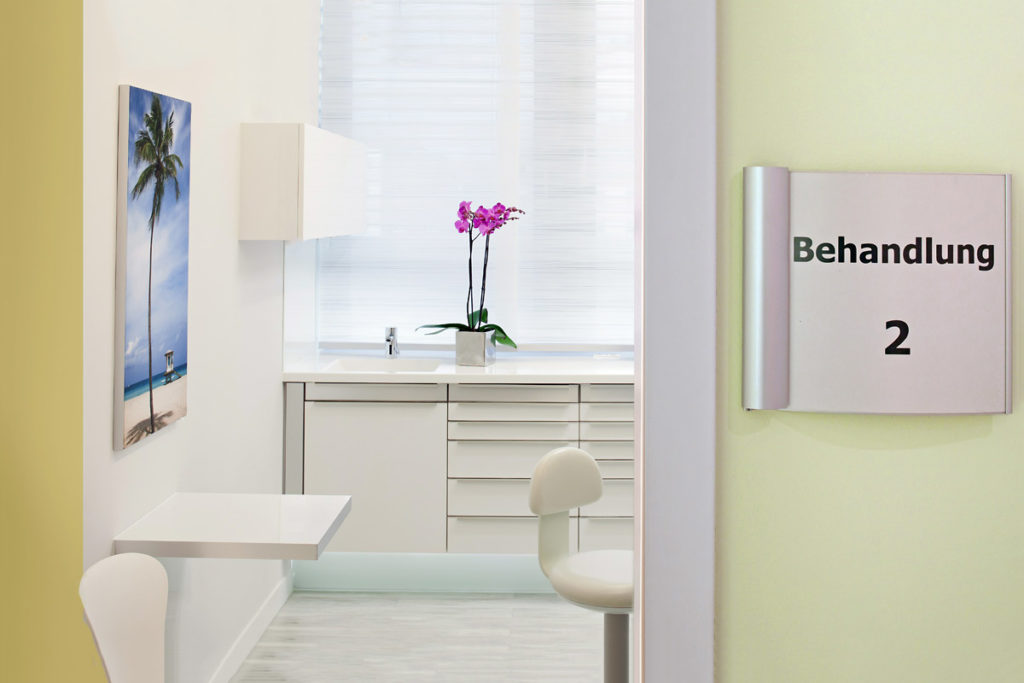Hochwertige Bilder und Aufnahmen medizinischer Räume
