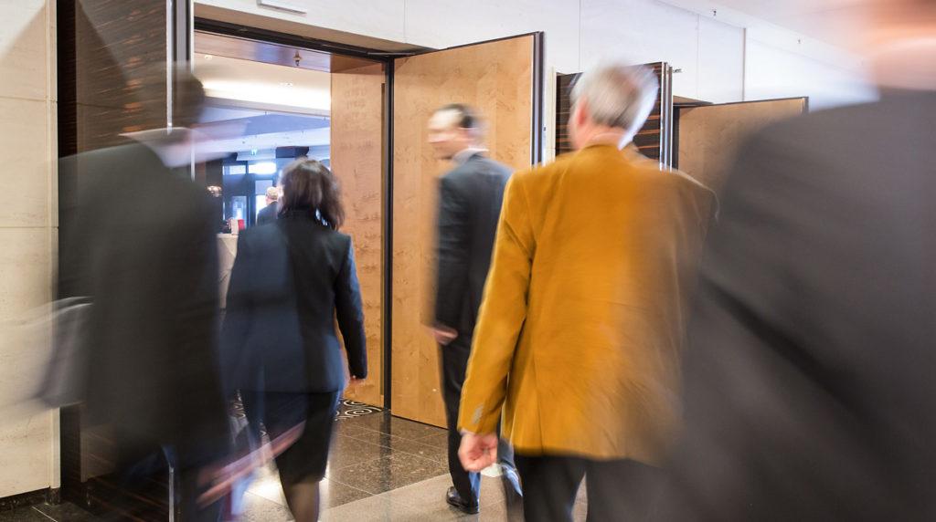 Bewegung bei Businessbildern