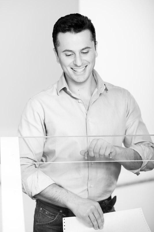 Businessfotos in Schwarz Weiss