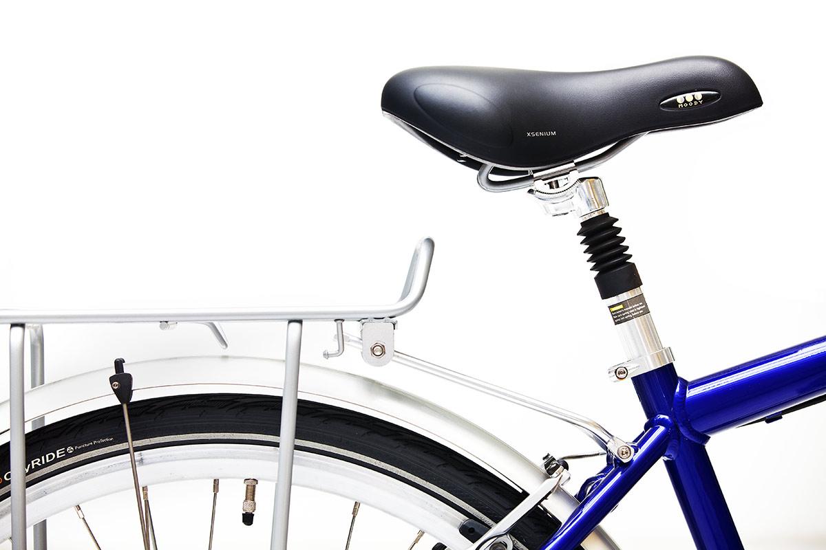 Fahrradsattel Werbefoto aus dem Kölner Fotostudio
