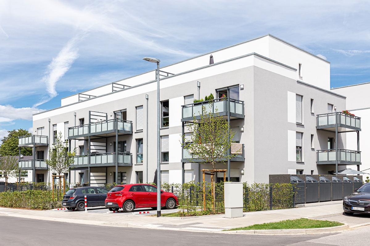 Mietshaus Architektur Immobilien Fotografie