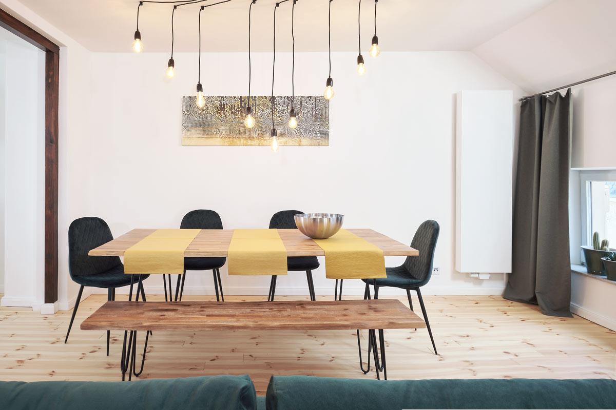 Esstisch und Stühle, Fotograf für Haus und Raum Fotos