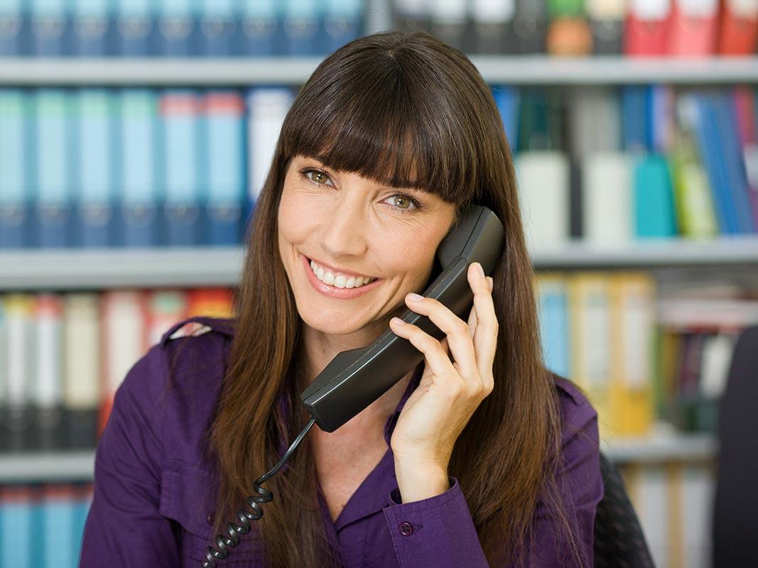 Business Portrait Telefonistin Siegen