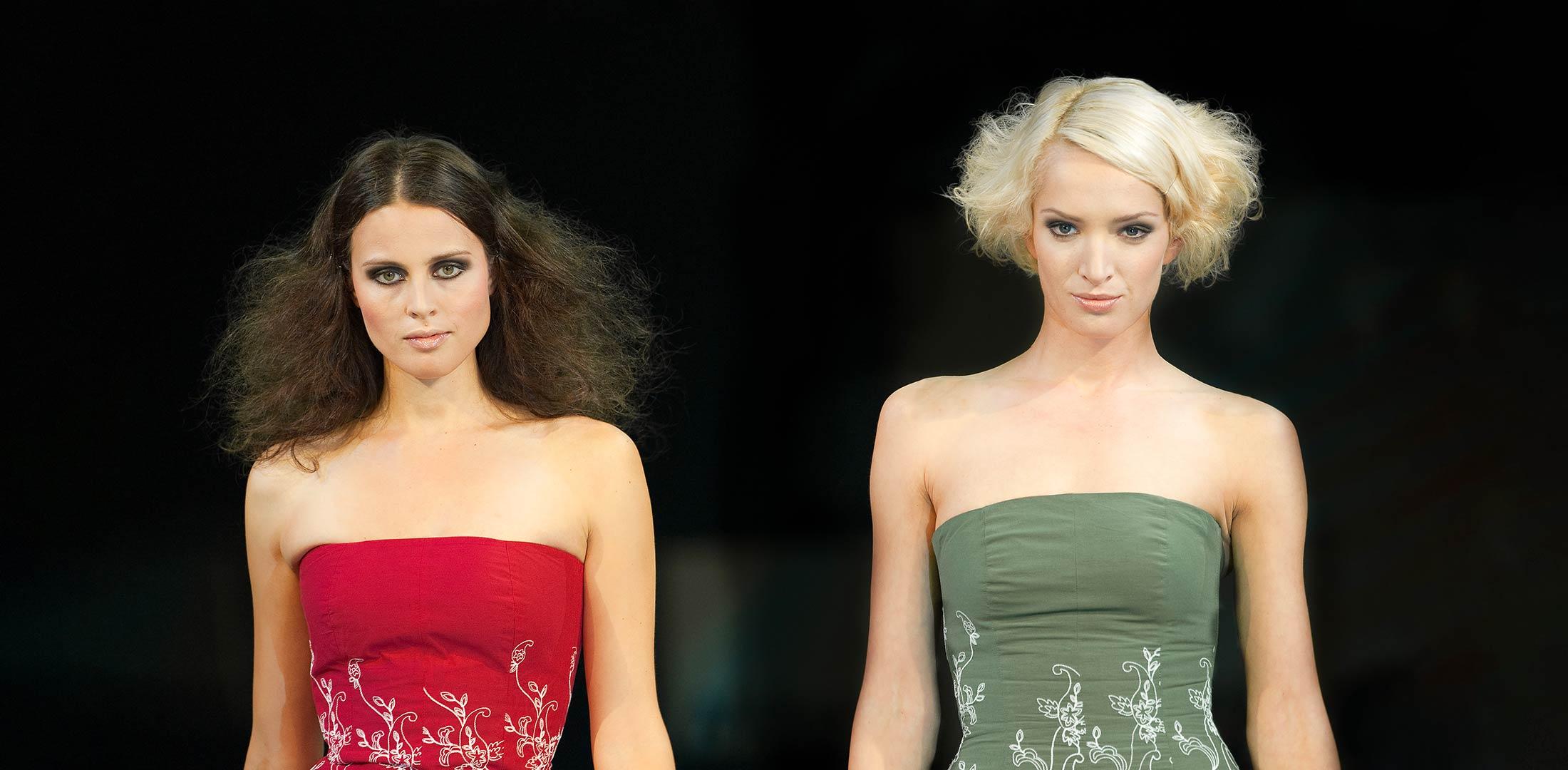 Model Frauen bei Fotoshooting