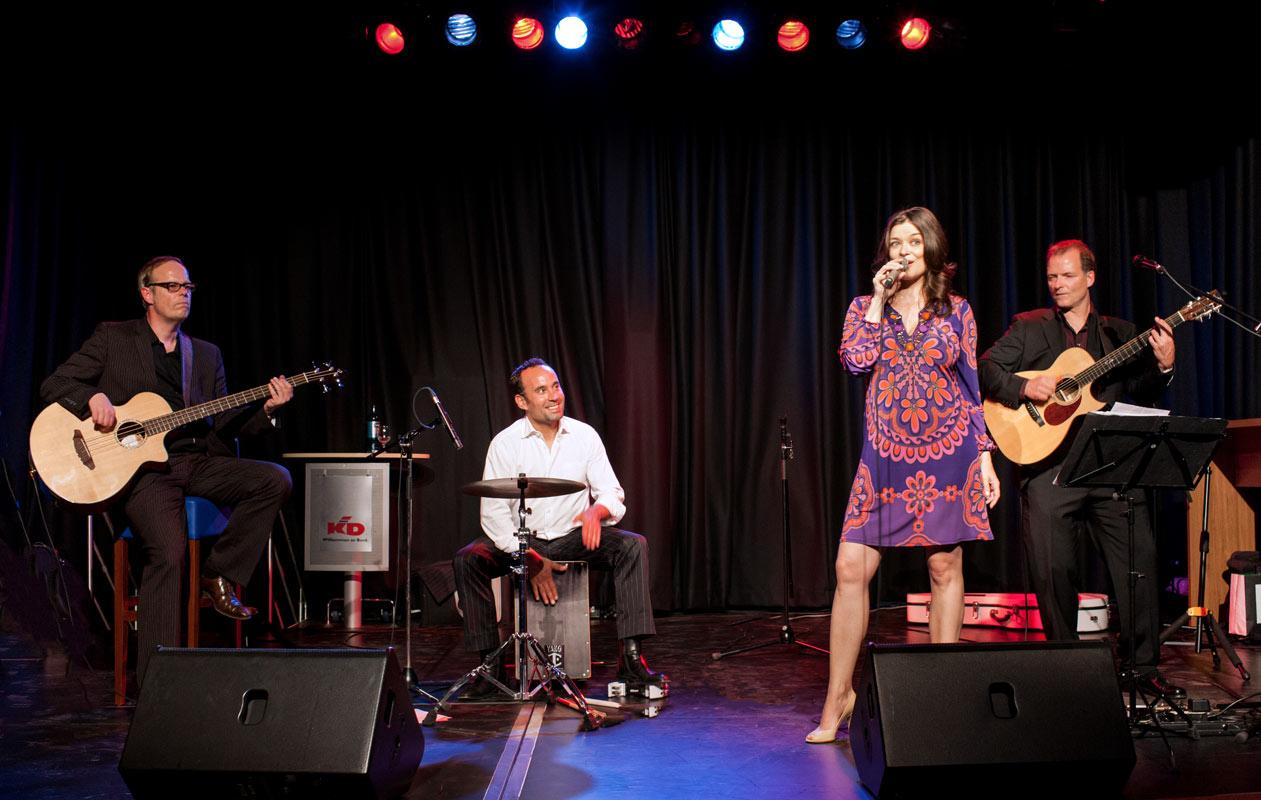 Die Band aus Köln in der Quartett Besetzung - Eventfotografie Baumbach