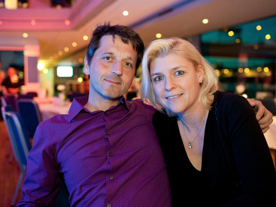 Ehepaar bei Kölner Event, Veranstaltungsfoto in Köln