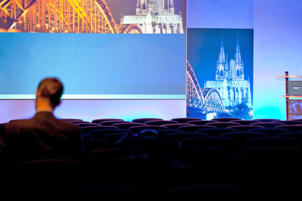 Saal Foto der Tagung in Köln