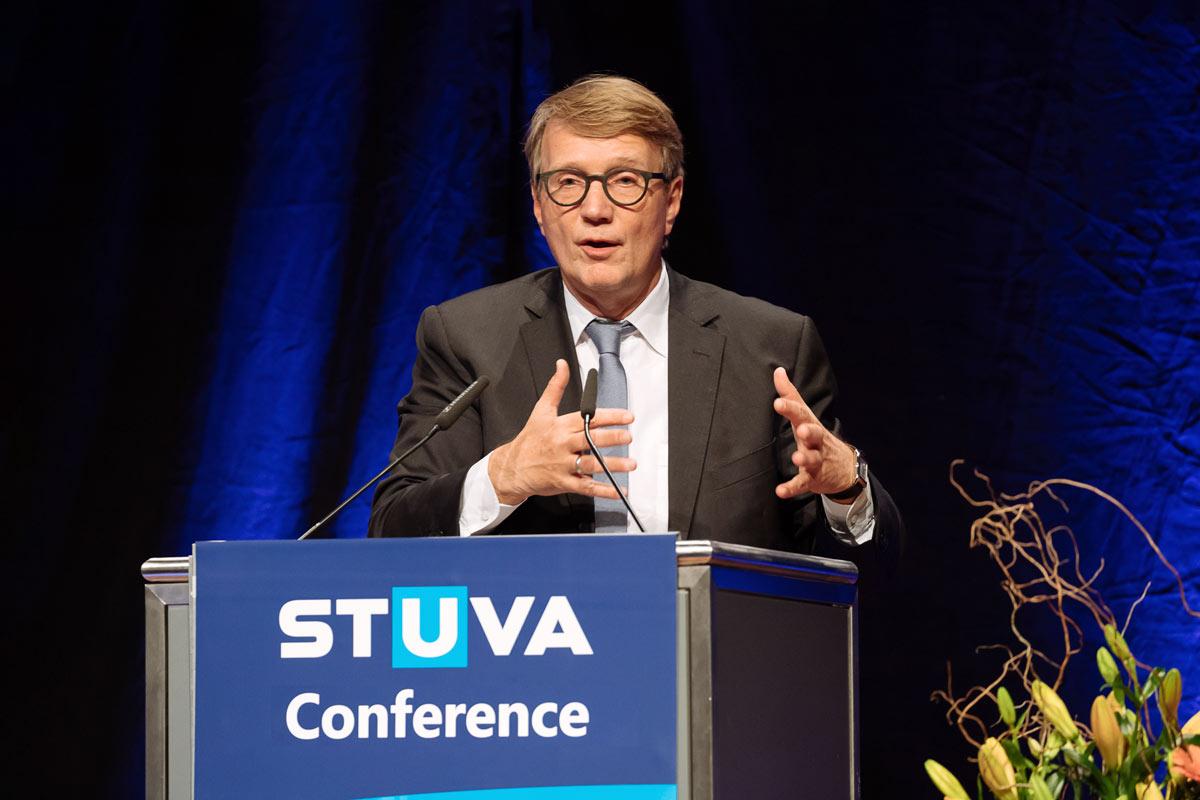 Stuva Converence Redner beim Forum in Köln