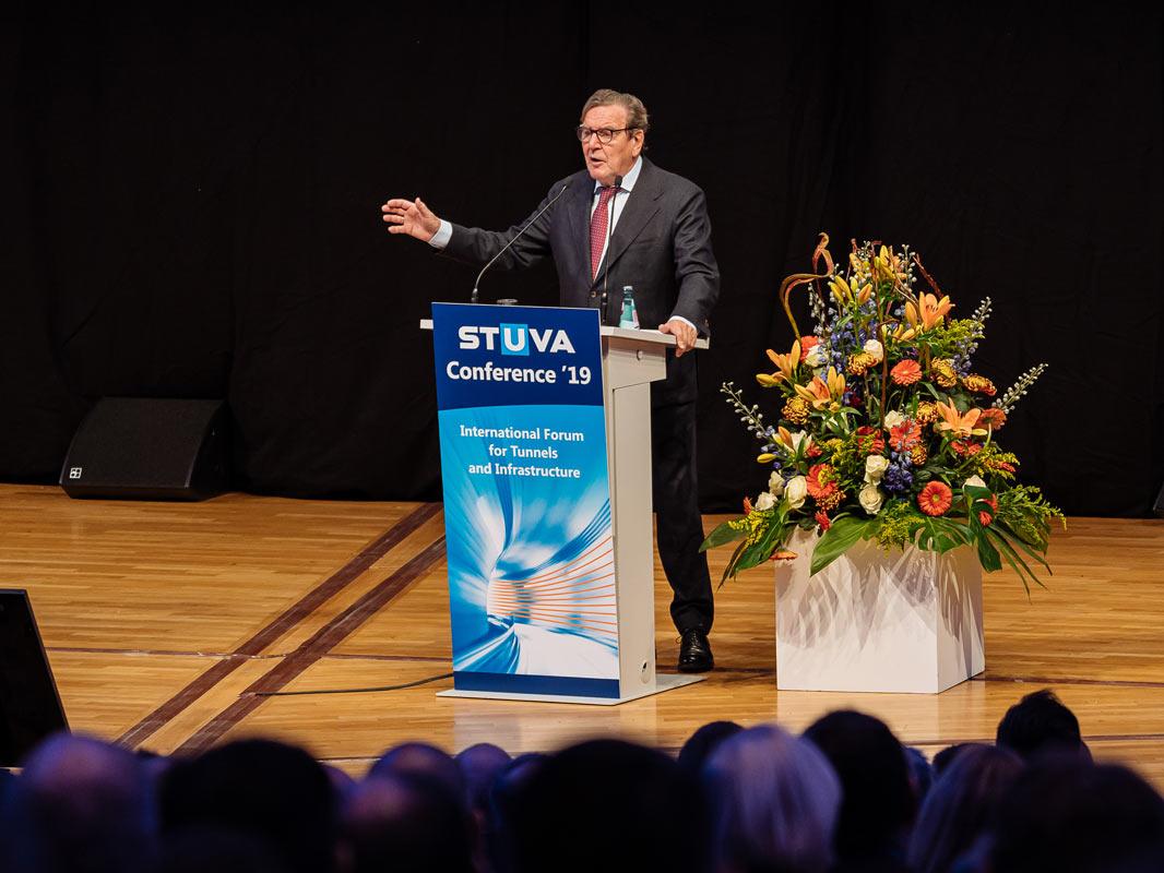 Gerhard Schröder bei Stuva Konferenz