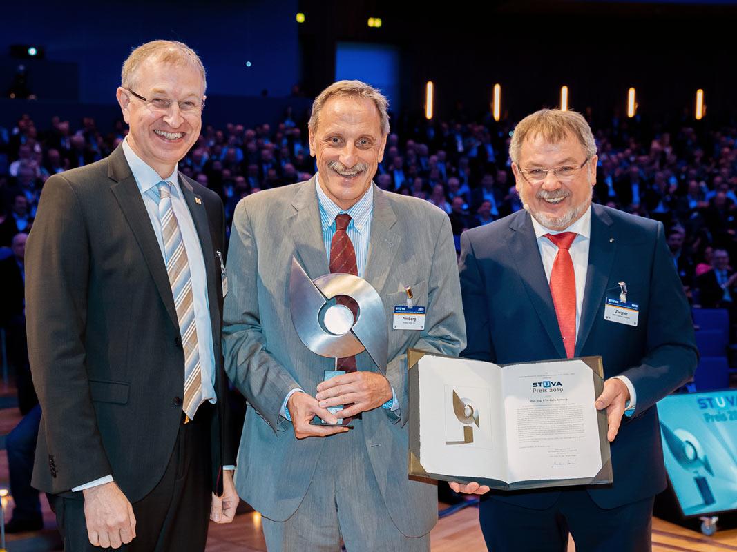 Foto der Preisverleihung der Stuva in Köln