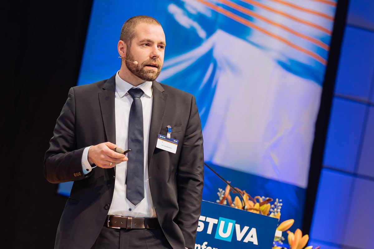 Redner bei Stuva Tagung Fotograf Dirk Baumbach in Köln