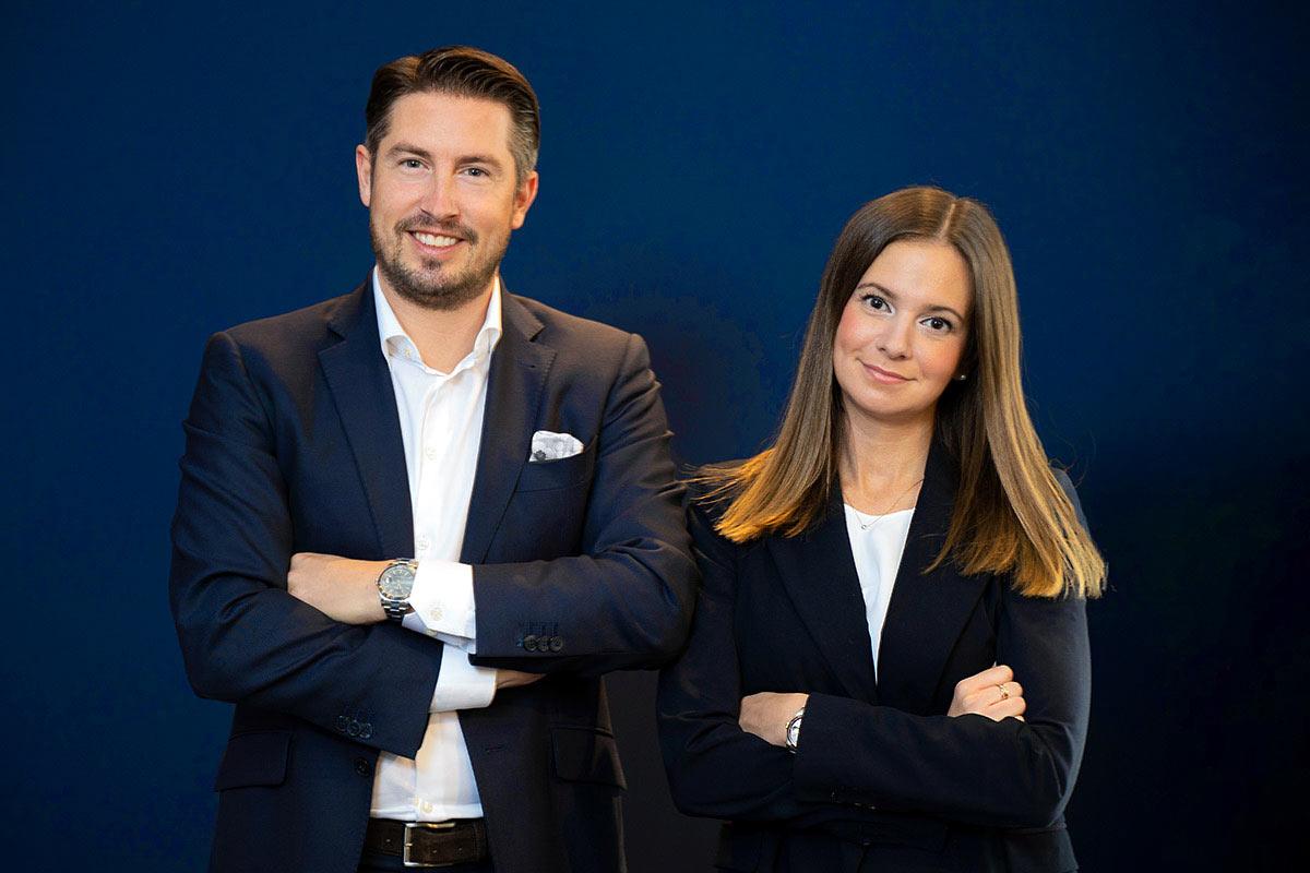 Business Foto Mann und Frau im Anzug Fotograf Köln