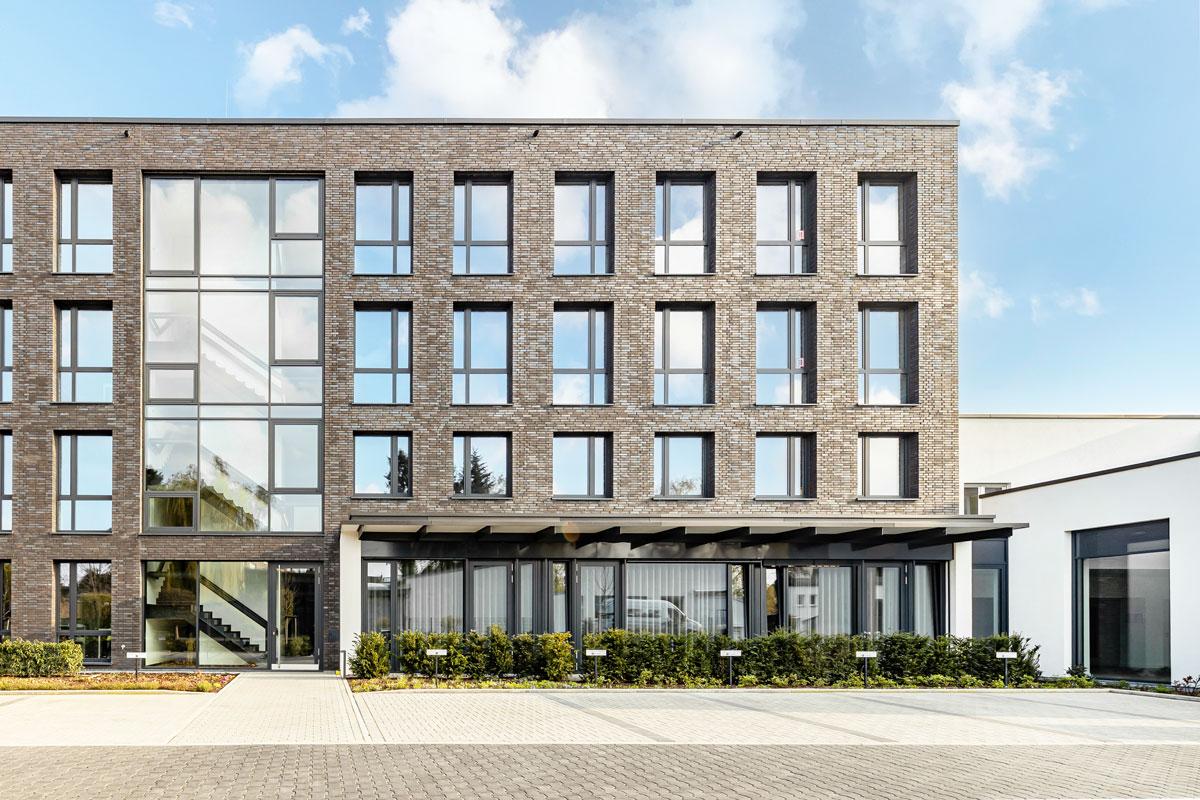 Architektur Außenaufnahme Bürogebäude Köln