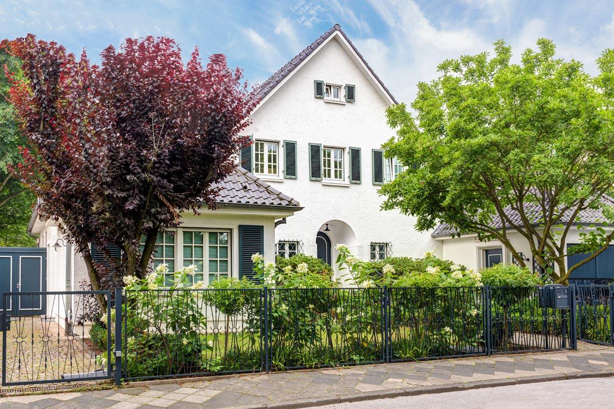 Haus in Köln Bayental, Beispiel Immobilienfotografie