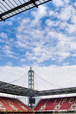 Ein Foto vom RheinEnergie Stadion